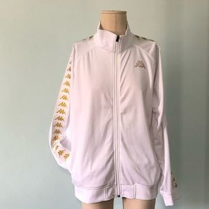 Kappa women slim track jacket.